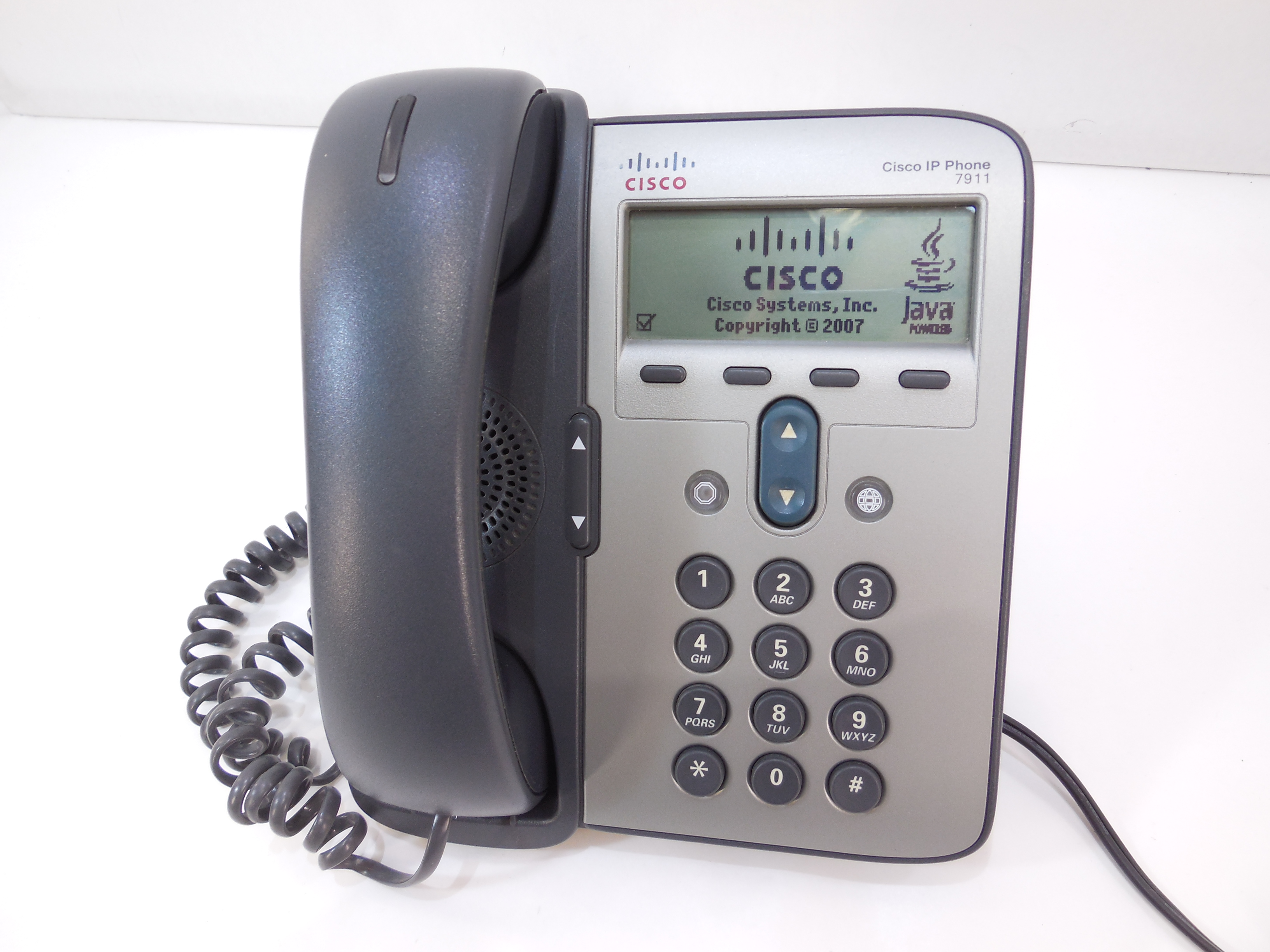 IP-телефон Cisco IP Phone 7911G, SIP, SCCP