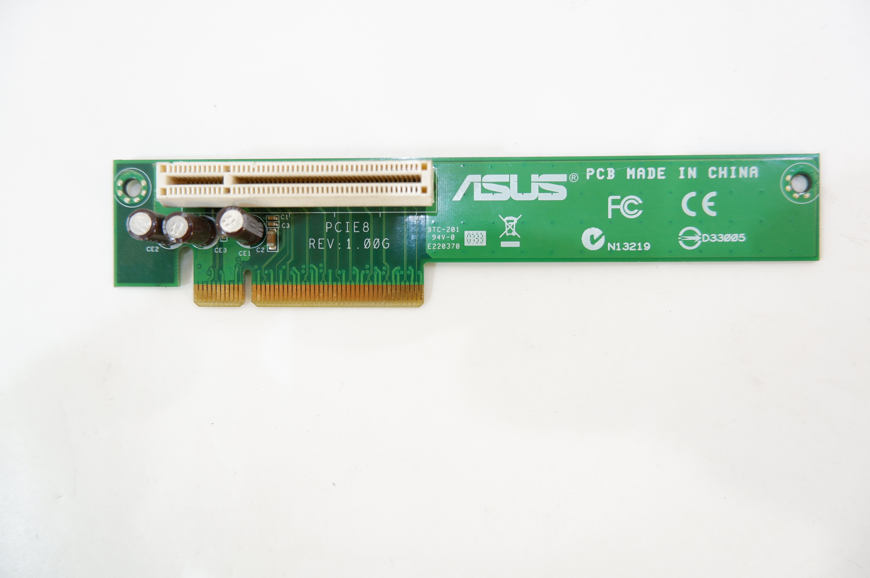 Райзер PCI-E to PCI-E угловой ASUS PCI-E 8X - Pic n 282668