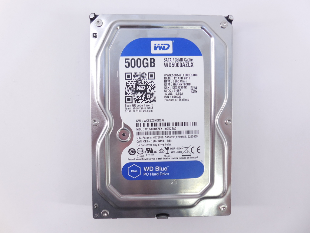 "Жесткий диск 3,5"" 500Gb WD Blue Desktop - Pic n 262837"