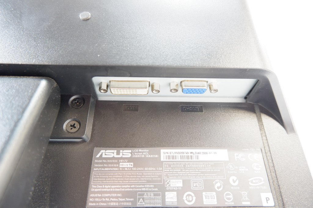 "ЖК-монитор 17"" Asus VB172TN - Pic n 281873"