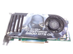 Видеокарта BFG GeForce 8800GTS OS