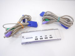 KVM-переключатель Defender 4-Port Slim KVM Switch - Pic n 289904